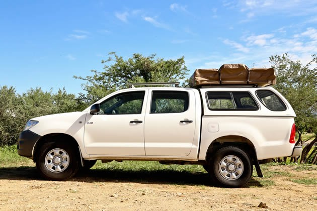 Toyota Hilux 4x4 Double Cab Camping Equipped (2 Pax)