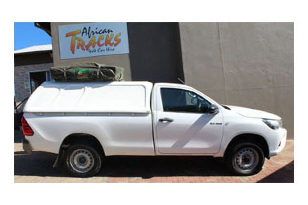 Toyota Hilux 4x4 Single Cab Camping Equipped (2 Pax)