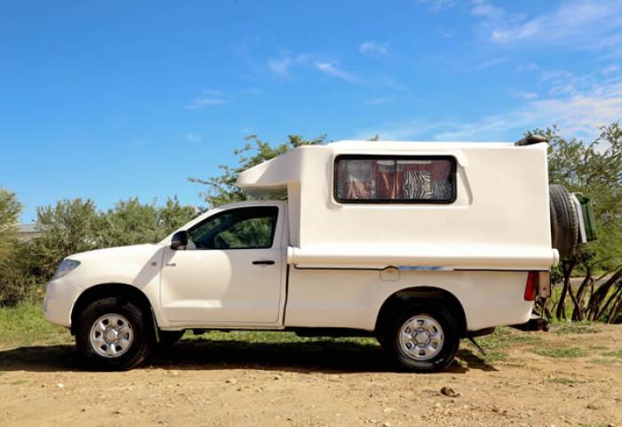 Toyota Hilux 4x4 Single Cab Camper Van (2 Pax)