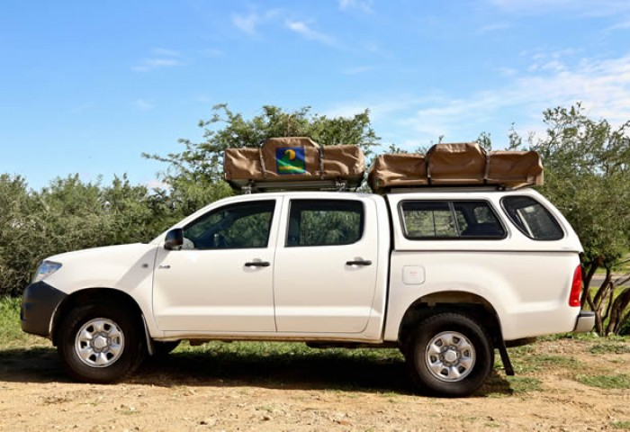 Toyota Hilux 4x4 Double Cab Camping Equipped (4-5 Pax)